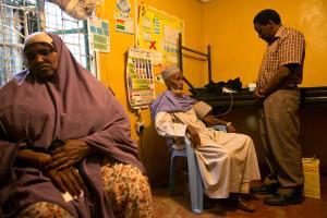 MAKWK (Maendeleo Afya Kwa Wote Korogocho), the community based clinic in Korogocho slum, Nairobi.